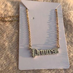 Jewelry - 90's Style Princess Necklace